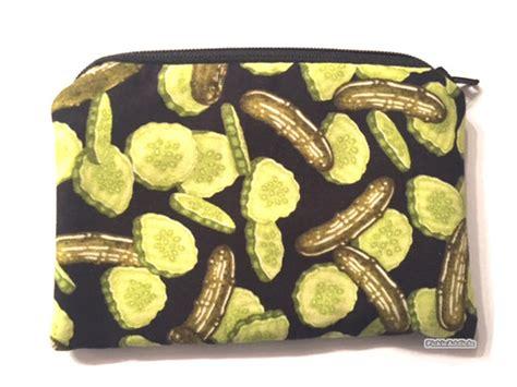 Change Gift Card - pickle coin purse pickle wallet change gift card holder