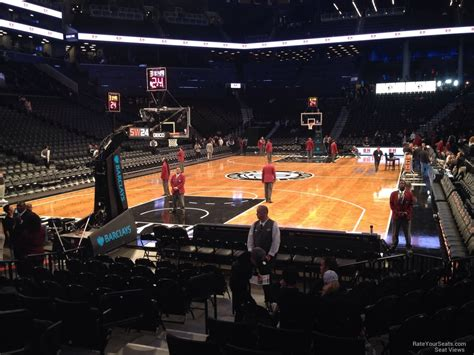 Section 15 Barclays Center by Barclays Center Section 15 Nets Rateyourseats