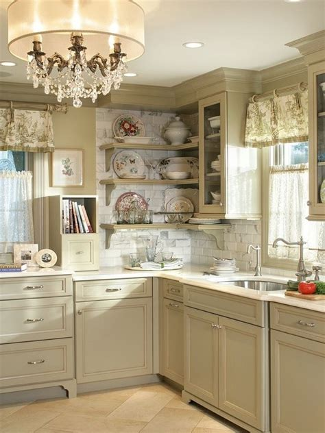 Shabby Chic Kitchen Design Charming Shabby Chic Kitchens That Youll Never Want To Leave Digsdigs