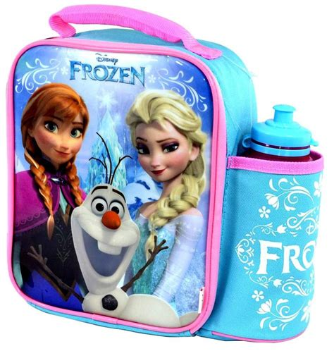 Lunch Box Frozen disney frozen vertical lunch bag box and bottle set