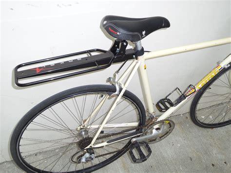 Seat Post Rack by Bike Seat Post Rack Review Singapore Arkel Randonneur Rack