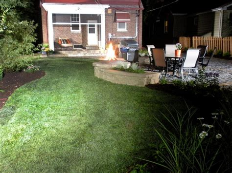 backyard at the w outdoor fireplaces and fire pits diy