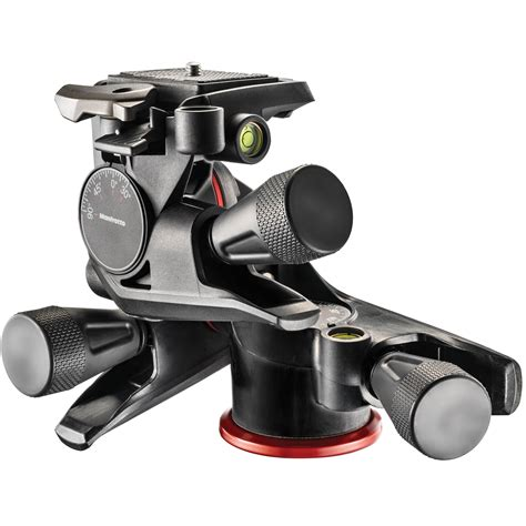 tripod manfrotto manfrotto xpro geared 3 way pan tilt mhxpro 3wg b h photo