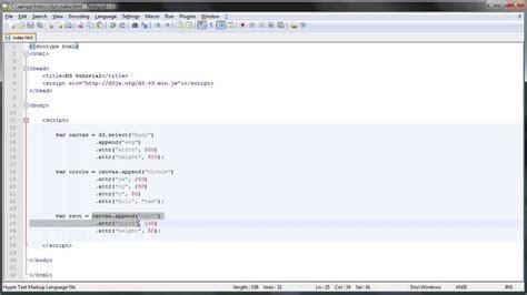 tutorial svg javascript d3 js tutorial 3 basic svg shapes youtube