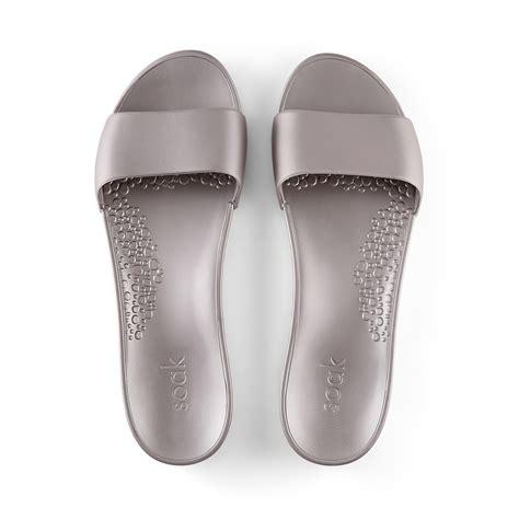 Metallic Sandal buy metallic slide sandals soak slide sandals