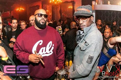 Kaos Row Records Black Y suge more turn out for e 40 s album release