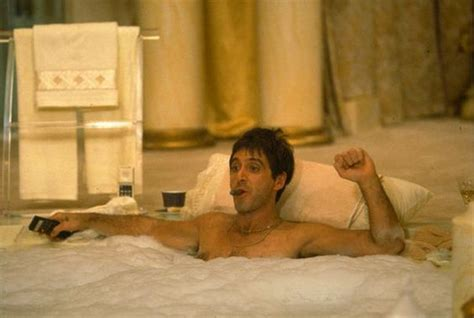 scarface bathtub quot sitting in his pricey tub smoking a cigar he felt like