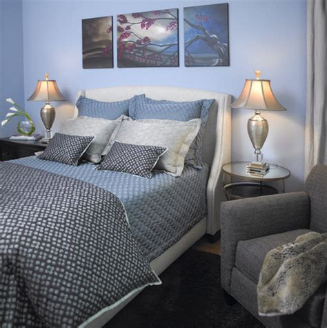 blue and silver bedroom traditional bedroom ideas photos