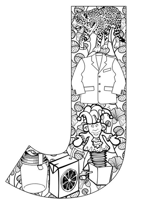 coloring pages free com things that start with j free printable coloring pages