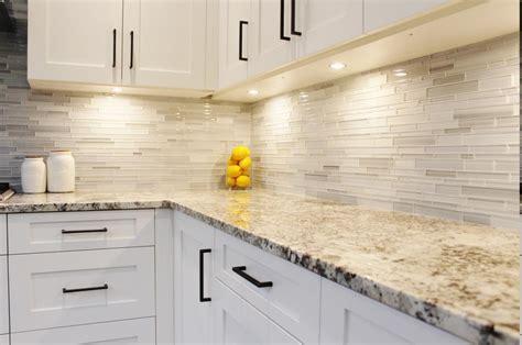 Modern Backsplash Ideas For Kitchen The Elegant And Stylish Alaskan White Granite For Your