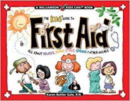 the kids guide to first aid all about bruises burns
