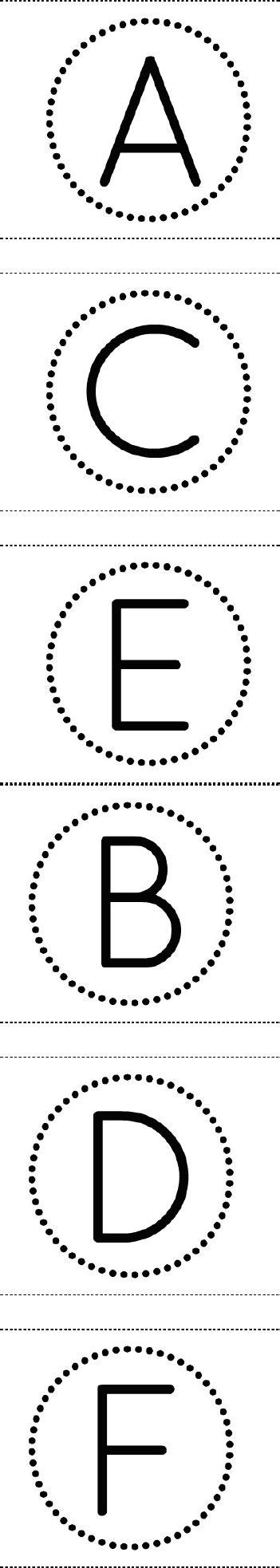 printable alphabet letters in circles free printable circle banner alphabet for making