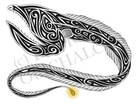 gulper eel tattoo by domoorichalcos on deviantart