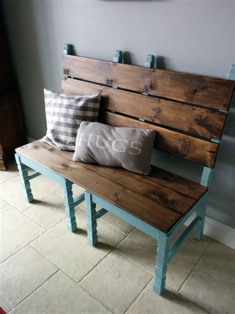 diy bench seat 25 best ideas about chair bench on pinterest unusual