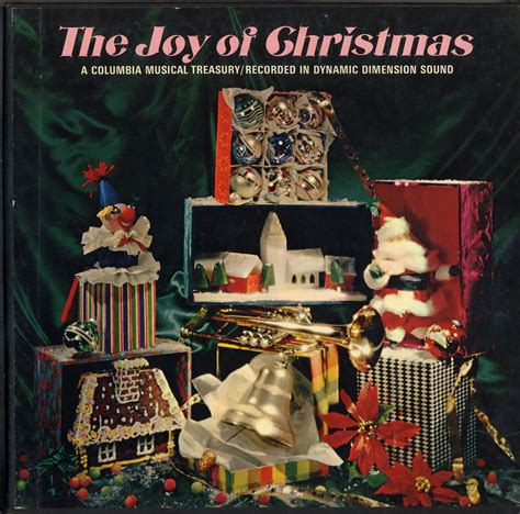 columbia house music cds joy of christmas columbia house 2 record set p4s5064 christmas lps to cd operated