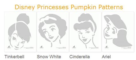 pumpkin carving princess templates 140 free pumpkin carving stencils
