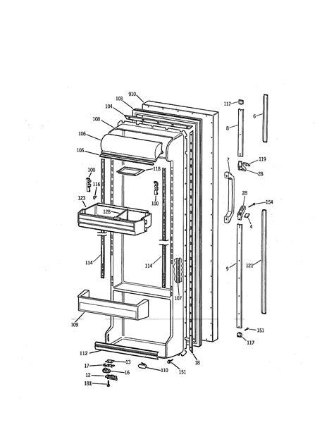 kenmore refrigerator 106 schematic diagram kenmore