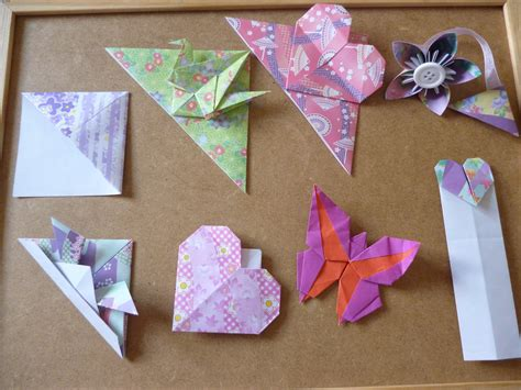 How To Make An Origami Bookmark - origami corner bookmarks atelier ilyere
