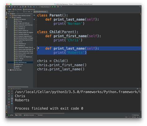 tutorial python threading python 3 tutorials 29 inheritance 파이썬의 클래스 상속