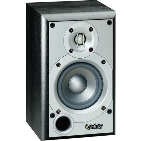 infinity primus p142bk 2 way 4 quot bookshelf speaker p142bk