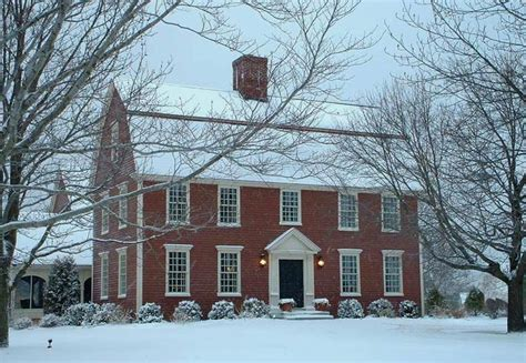 New England Saltbox House by Classic Colonial Homes Australian Houses Pinterest