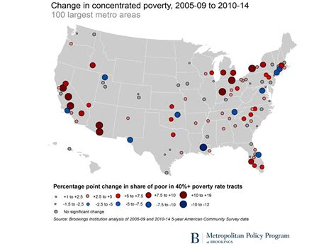 map of us cities 100 000 las vegas faces growing concentration of poverty