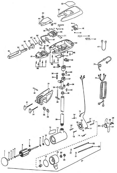 minn kota edge trolling motor wiring diagram ezgo 36 volt