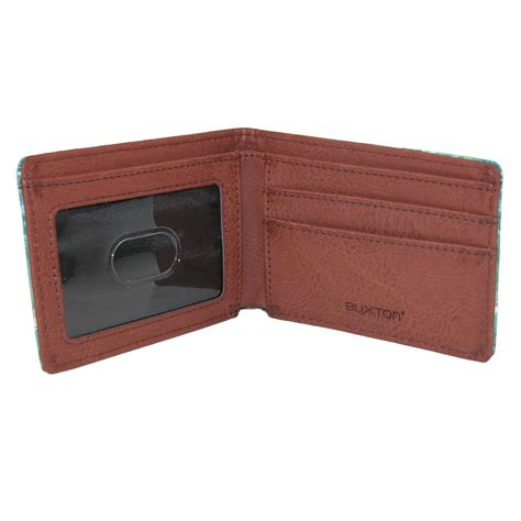 Bifold Wallet mens wildlife deer print bifold wallet by buxton bifold