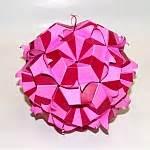 Exquisite Modular Origami - blintz fish model 1