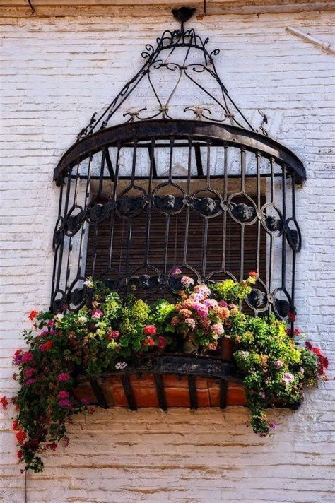 Wrought Iron Railing Planter Box by 36 Best Wrought Iron Window Images On Wrought Iron Irons And Windows