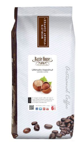 barrie house coffee coffee consumers barrie house ultimate hazelnut coffee whole bean 2 5 lb bag