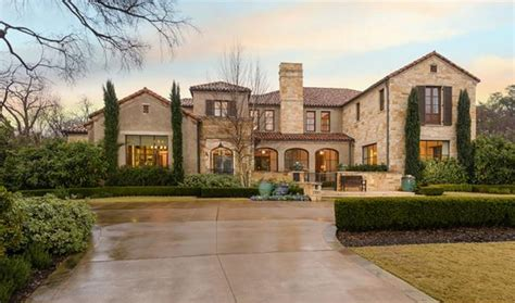 design a mansion 15 995 million 13 000 square foot mediterranean mansion in highland park tx homes of the rich