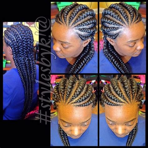 different kind of corn rolled hair styles the 25 best big cornrows ideas on pinterest