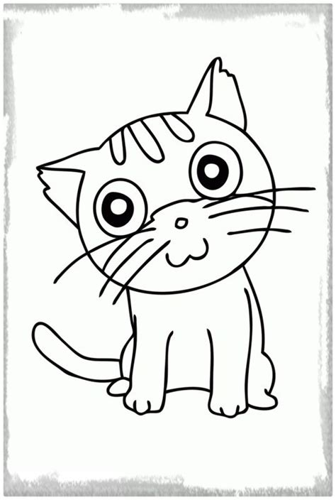 imagenes para dibujar a lapiz facil el mas lindo dibujo facil de un gato dibujos de gatos