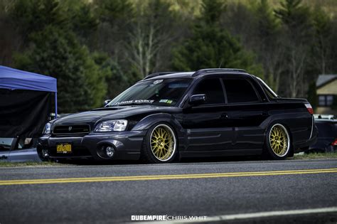 subaru baja slammed don t see this too often stancenation form gt function