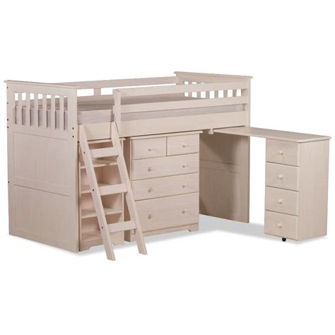Mid Sleeper Beds by Ultimate Mid Sleeper White Wooden Storage Bed