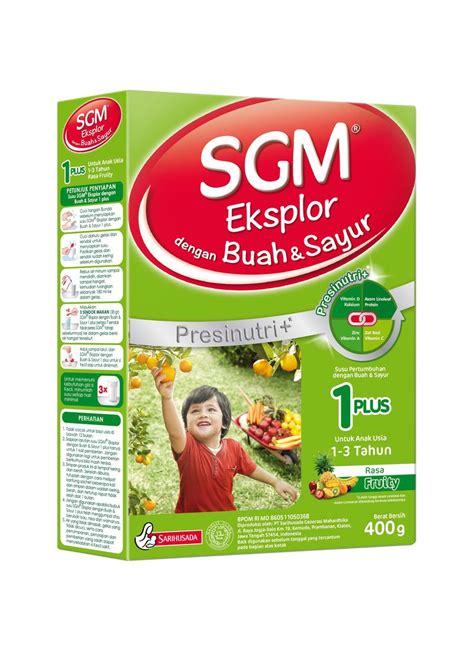 Sgm Buah Dan Sayur Sgm Eksplor 1 Pertumbuhan Presinutri Buah Sayur