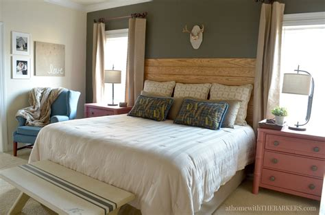 pictures of bedroom makeovers master bedroom makeover update at home with the barkers
