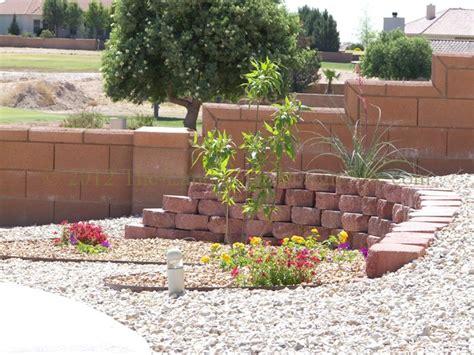 Landscaping Ideas Retaining Wall Hillside Hometalk Desert Southwest Landscaping On A Small