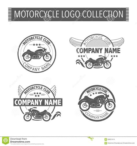 Vector Motorcycle Club Logo Stock Vector Illustration 60821414 Nightclub Logo Template