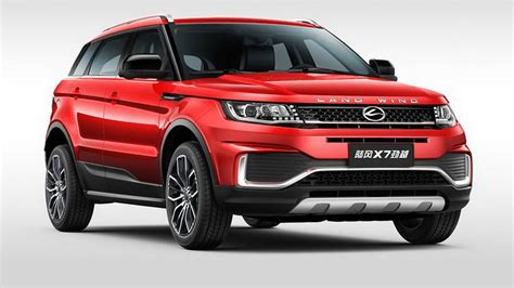 land wind x7 clone of range rover evoque the landwind x7 gets a