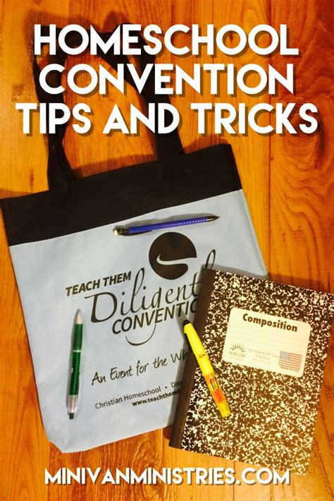 convention tips homeschool convention tips and tricks minivan ministries