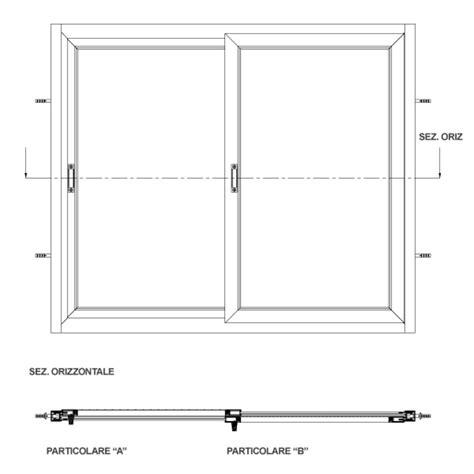 larghezza porta finestra dimensioni finestre beautiful zanzariera universale a