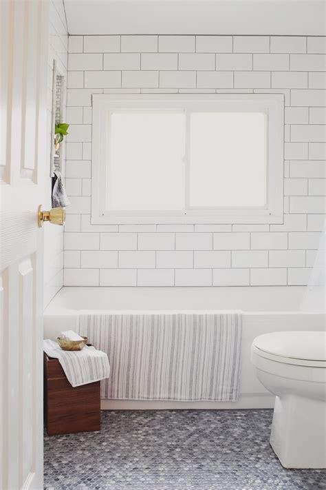 4x8 subway tile white 4x8 subway tiles bath remodel