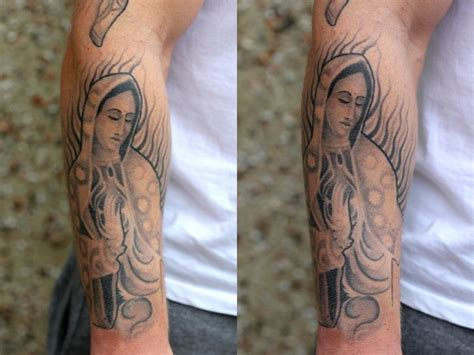 christian tattoo artist st louis ladyofguadalupe chicanotattoo black andgreytattoo