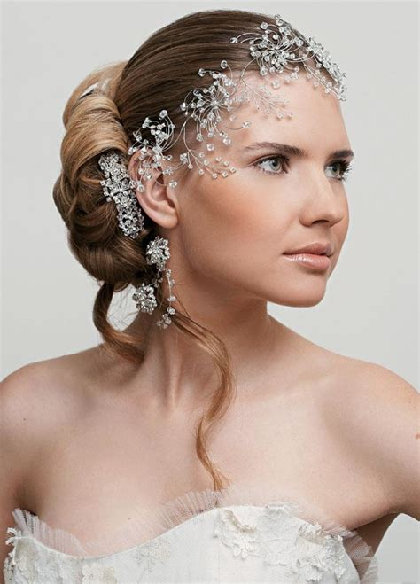Wedding Hairstyles With Jewelry by The Best Ideas For Your Trendy Bridal Hairstyle