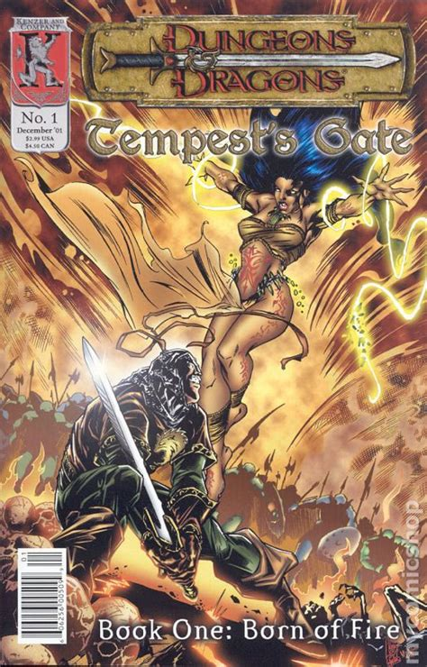 dungeons and dragons comic by dungeons and dragons tempest s gate 2001 comic books