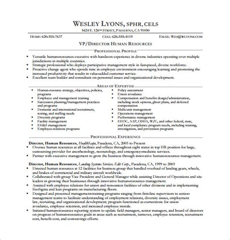 Executive Resume Template by Executive Resume Template And What You Should Include