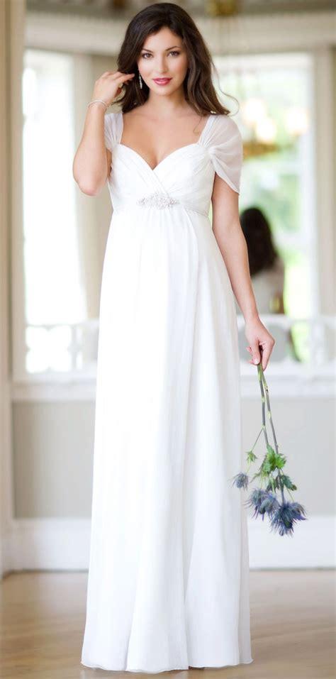 cheap white maternity wedding dresses sleeves 100 dollars