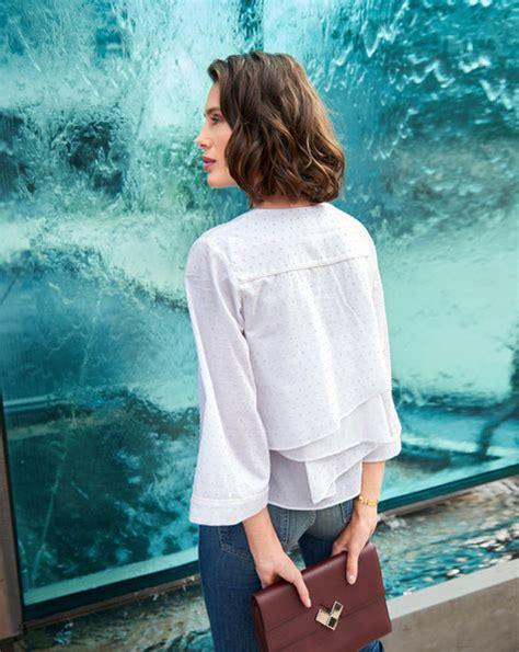 Blouse Jumbo 111 Nm layered back blouse 02 2018 111 sewing patterns burdastyle